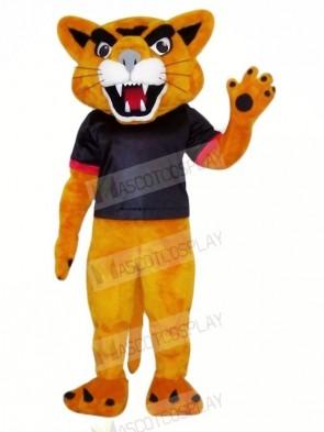 Happy Cougar Mascot Costume Cheap