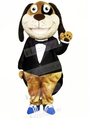 Gentleman Dog Mascot Costumes Cheap