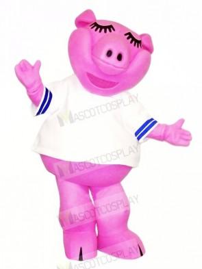 High Quality Pink Pig Mascot Costumes Cheap