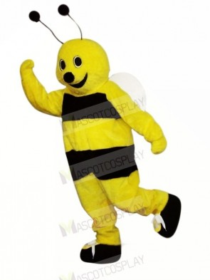 Happy Bee Mascot Costumes Adult