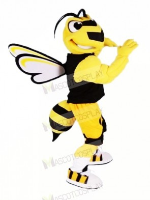 Cool Sport Bee Mascot Costumes Cartoon