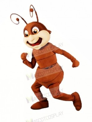 Brown Ant Mascot Costumes Cartoon