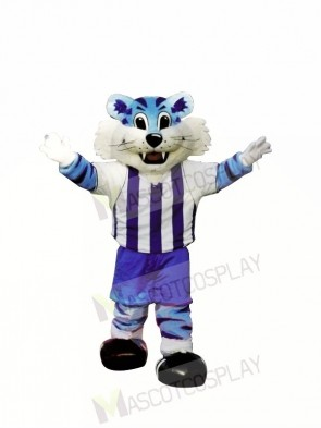 College Blue Tiger Mascot Costumes