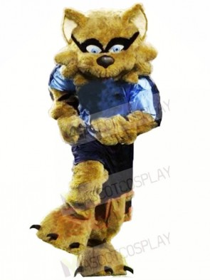Strong Brown Raccoon Mascot Costumes Animal
