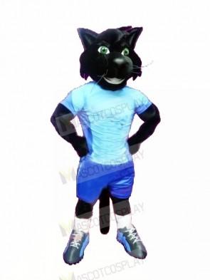 Sport Black Cat Mascot Costumes Cartoon