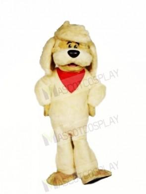 Cute Lightweight Yellow Dog Mascot Costumes