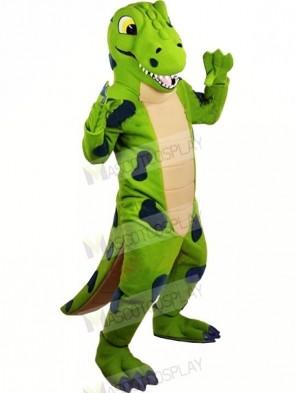 Funny Green Dinosaur Mascot Costumes Animal