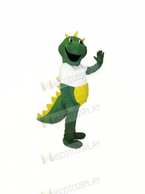Happy Green Dragon Mascot Costumes