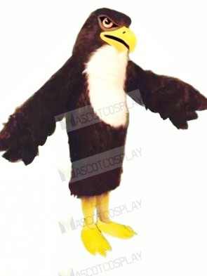 Strong Black Falcon Adult Mascot Costumes Animal