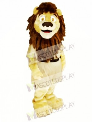 Strong Brown Lion Mascot Costumes Animal