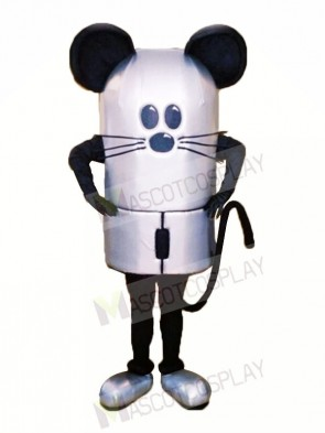 Grey Mouse Mascot Costumes Animal