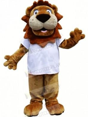 Cute Strong Lion Mascot Costumes Cartoon