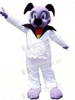 Cute Purple Dog Mascot Costumes Animal