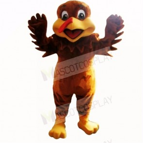 Brown Turkey Mascot Costumes Adult