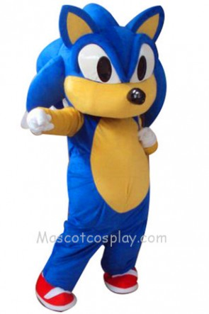 Blue Hedgehog Sonic Mascot Costume