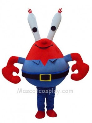 Eugene H. Krabs Crab Mascot Costume Fancy Dress Outfit