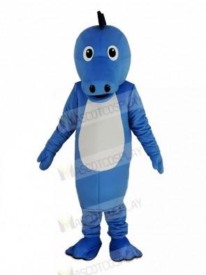 Blue Henry Seahorse Mascot Costume Animal