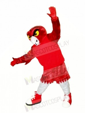 Strong Red Owl Mascot Costumes Animal