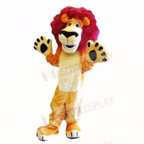 Friendly Lightweight Animal Lion Mascot Costumes Cartoon