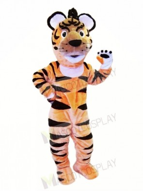 Happy Lightweight Animal Tiger Mascot Costumes