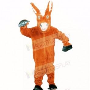 Friendly Donkey Mascot Costumes Cartoon