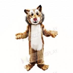 Friendly Lightweight Bobcat Mascot Costumes Adult
