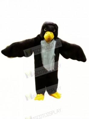 Black Bald Eagle Mascot Costumes Cartoon
