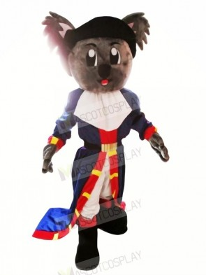 Pirate Koala Mascot Costumes Cartoon