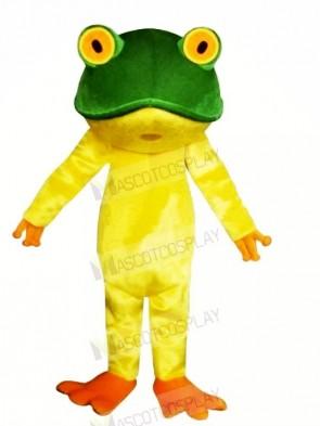 Lightweight Yellow Frog Mascot Costumes Cheap