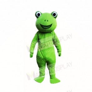 Green Frog Mascot Costumes Cartoon