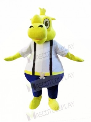 Yellow Rhino Mascot Costumes