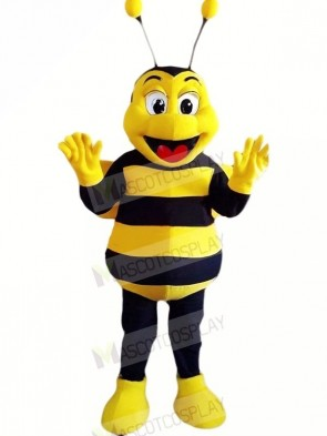 Happy Bee Mascot Costumes Cheap