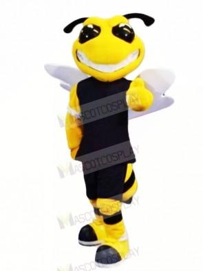 Power Sport Bee Mascot Costumes Cartoon