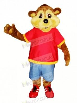 Quality Brown Beaver Mascot Costumes Cartoon
