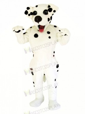 Happy Dalmation Dog Mascot Costumes Cartoon
