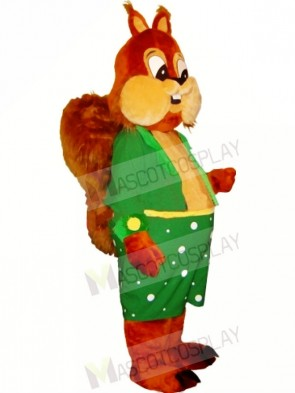 Happy Lightweight Squirrel Mascot Costumes Free Shipping