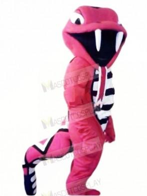 Fierce Red Cobra Mascot Costumes