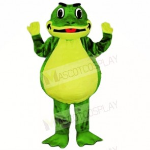 Smiling Friendly Lightweight Frog Mascot Costumes School