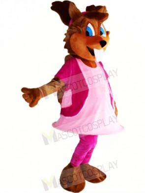 Girl Squirrel Mascot Costumes