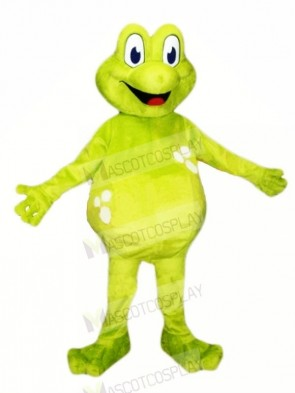 Frog with Big Eyes Mascot Costumes Cartoon