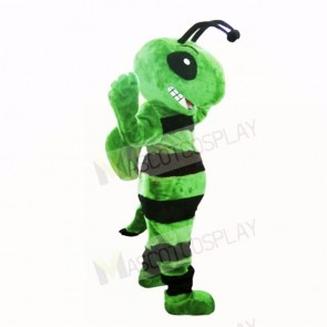 Friendly Green Bee Mascot Costumes Adult
