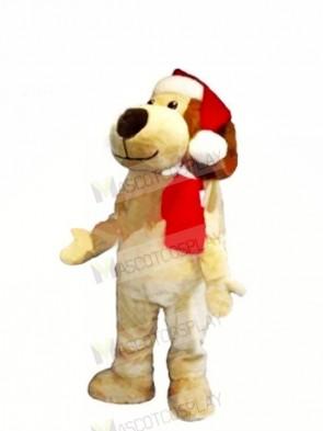 Christmas Dog with Big Nose Mascot Costumes Animal