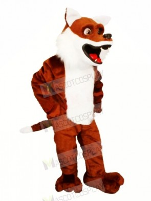 Lovely Brown Fox Mascot Costumes Cartoon