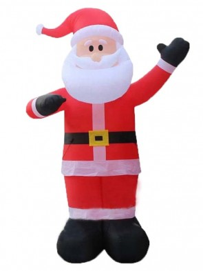 Christmas Inflatable Santa Claus Lawn Event Yard Mall Decor Xmas Airblown