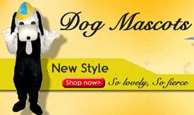 dog mascot costumes