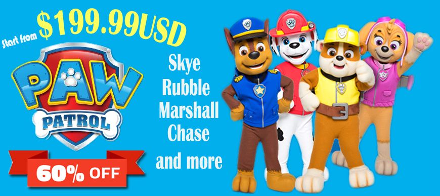Paw Patrol Costumes Adult